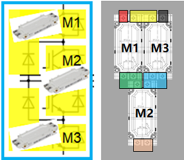 图10:(a)基于EconoDual™3白模块NPC1三电平,在某种水冷条件下,不同工况时的散热器总热阻.png