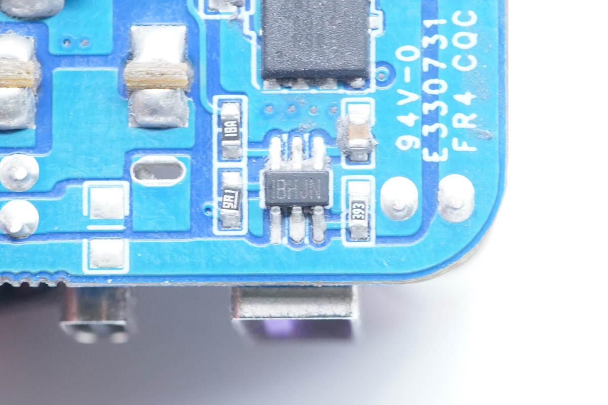 拆解報告:UGREEN綠聯65W 2C1A氮化鎵快充充電器CD244-充電頭網