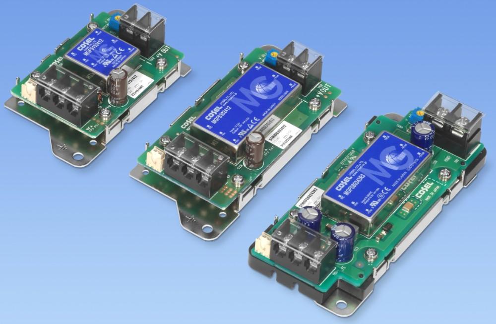 科索基于STMGF平台打造了一款功率为80W的DC/DC工业应用电源