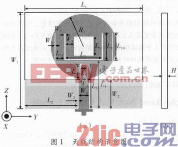 一种具有三陷波特性的超宽带印刷天线设计