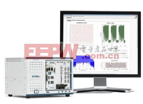 NI PXIe-5644R是用于WLAN测量的最佳选择,可编程FPGA允许用户根据需要自定制仪器。