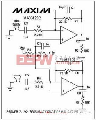 集成电路RF噪声抑制能力测量