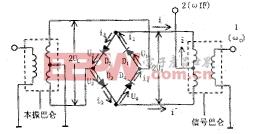 图6 双平衡混频器电原理图