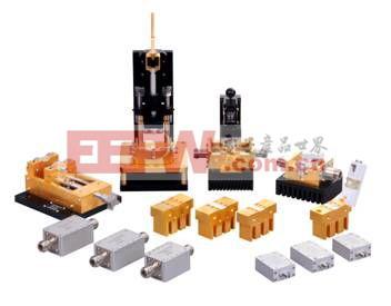 射频芯片测试夹具的主体结构形式