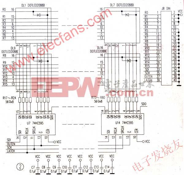 设计应用 > led点阵显示器电路原理图及程序     diy机械键盘相关社区