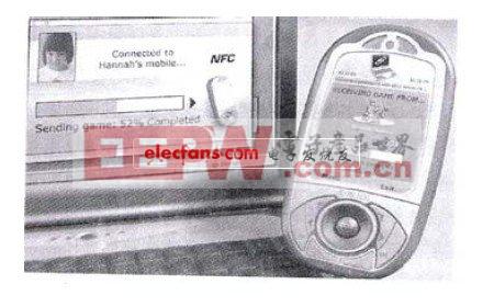 手机和笔记本电脑的NFC点对点通信
