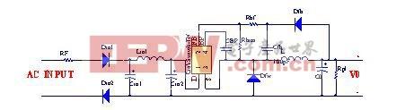 图2 非隔离电源电路图