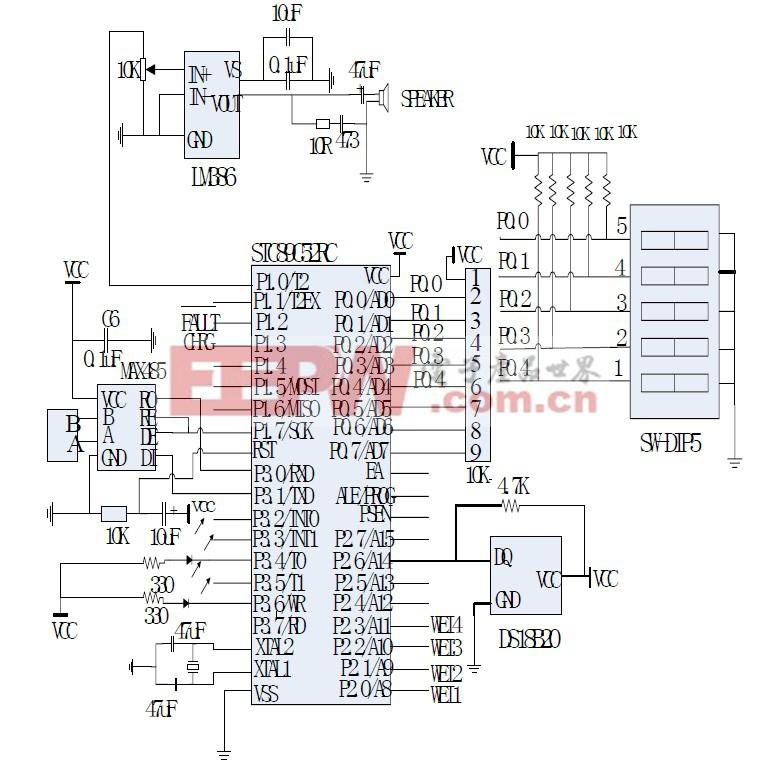 图3 系统主电路