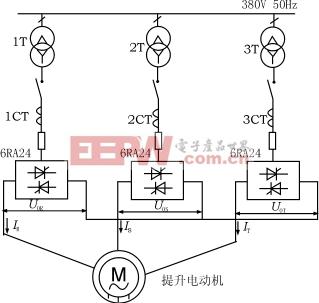 图1交交变频器主电路接线图