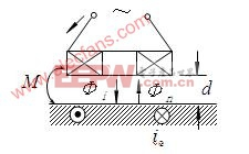 电涡流传感器原理图