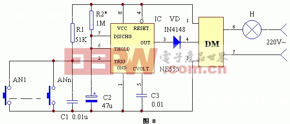 单稳态控制电路