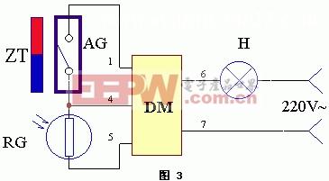 磁控、触控、光控、线控电路图工作原理