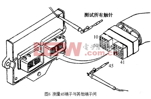 进气歧管压力传感器电路检测