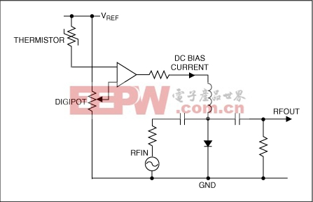 pin二极管简化偏置电路