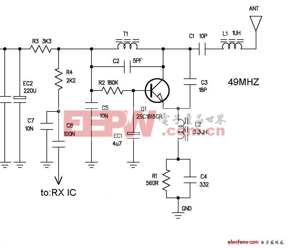 玩具常用RF接收电路设计(3张高频部分)