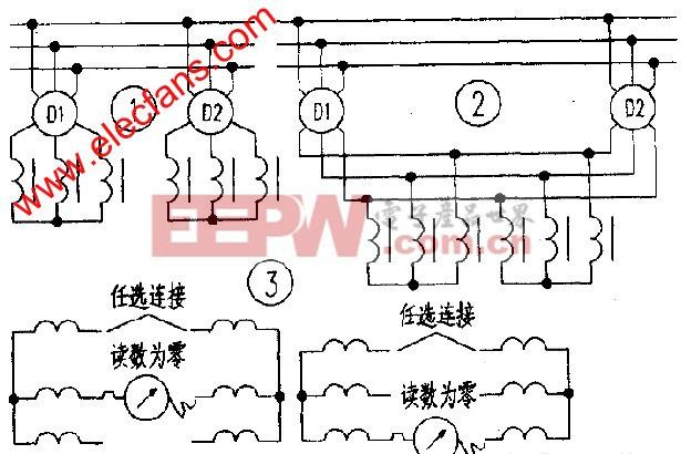 双电机频敏变阻器接线的改进方法