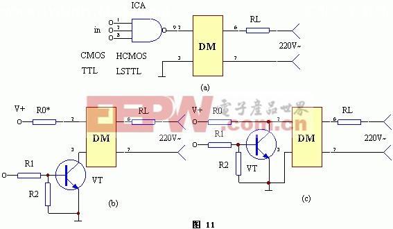 多敏固态控制器与其它集成电路配接