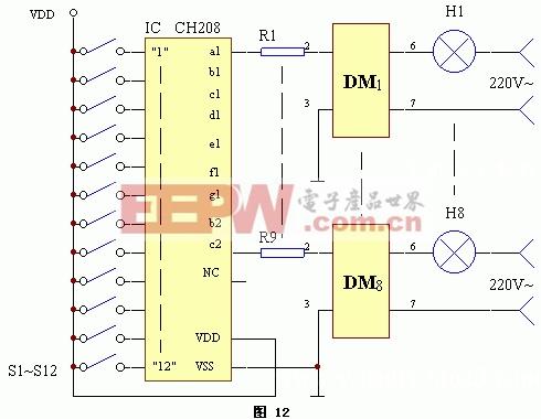 多敏固态控制器光电输入端应用