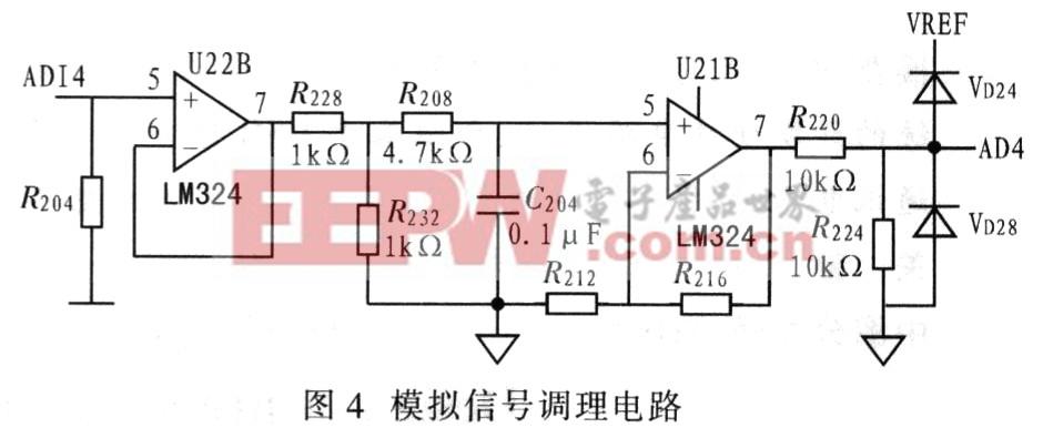 该电路可输入电压信号或电流信号