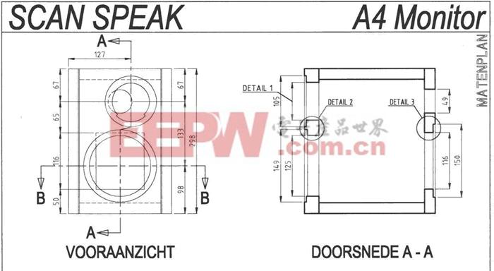 High-end A4监听音箱的制作方法