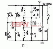 无线话筒电路分析与设计