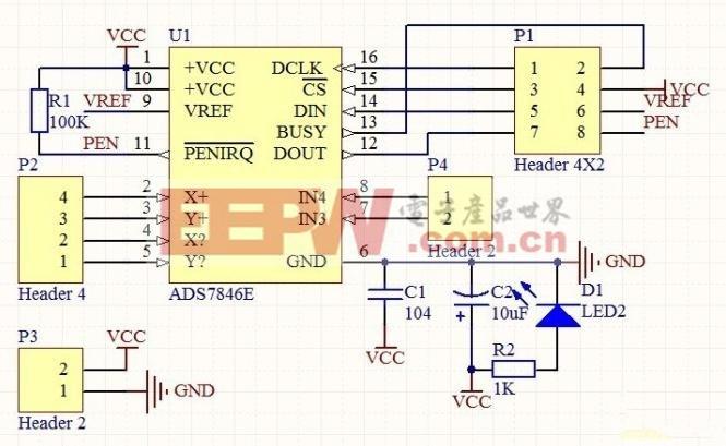触控屏的控制电路制作小记