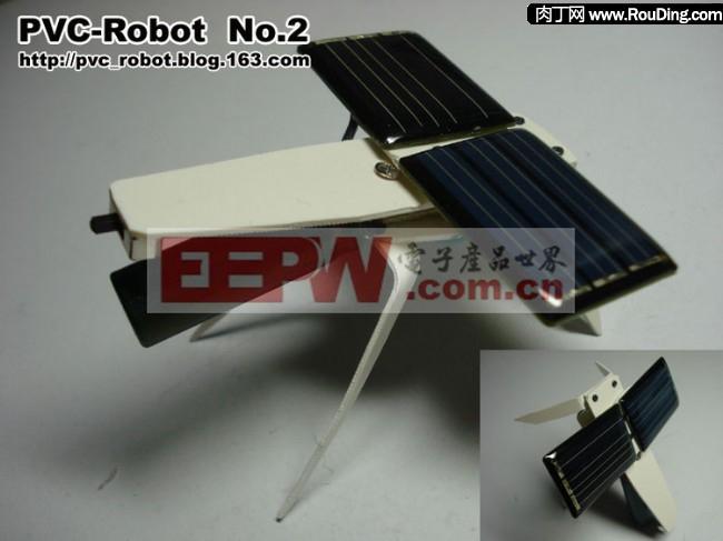 太阳能动力昆虫机器人DIY-可爱的蚊子