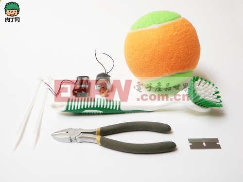 恶作剧DIY:自己会动的网球