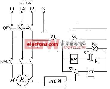 电动缝纫机智能空载节能器电路及元器件介绍