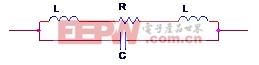 图2-1 电阻的等效电路