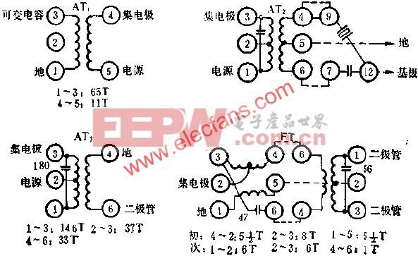 D1018线圈接线图  www.elecfans.com