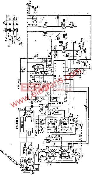 D7640调频/调幅中频放大电路的应用  www.elecfans.com