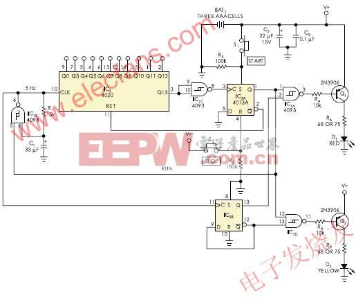 验证光纤束电路 www.elecfans.com