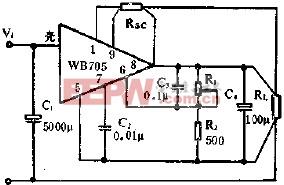 限流型保护应用线路图  www.elecfans.com