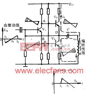 OTL场输出级的原理电路 www.elecfans.com