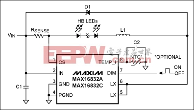 Soft-start enhances LED driver