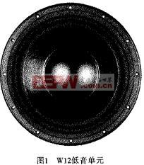 W12低音单元