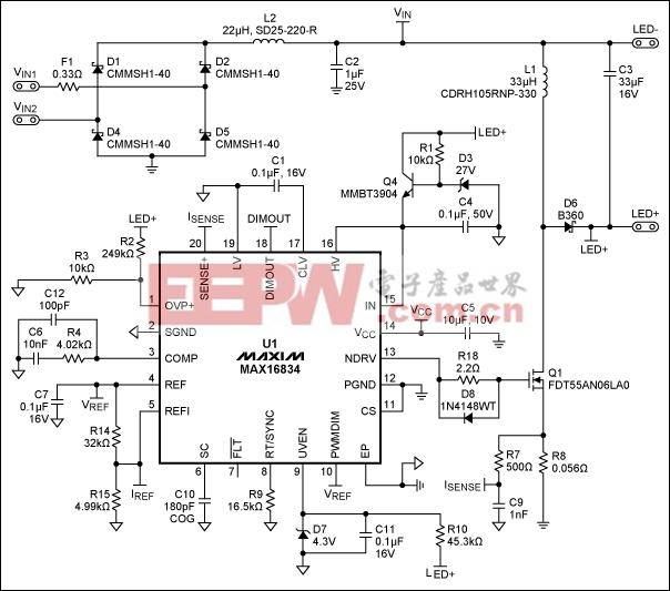 MR16及换代灯的LED驱动方案