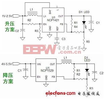 1~3W LED手电筒驱动方案介绍