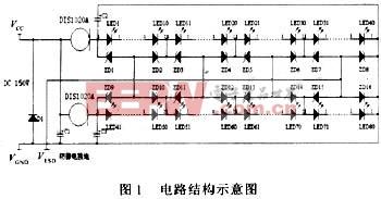 集成功率级LED与恒流源电路一体化设计介绍