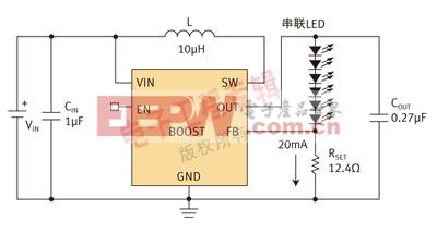 线性WLED驱动器在LCD背光中的应用