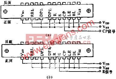 LCL331利用脉冲信号的后沿进行计数的累加计数器电路图  www.elecfans.com