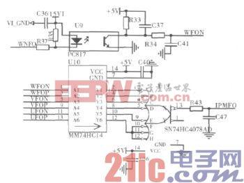 基于STM32单片机的大扭矩永磁同步电机驱动系统图片