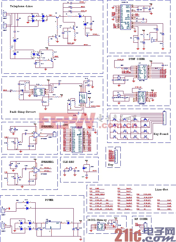 系统电路原理图