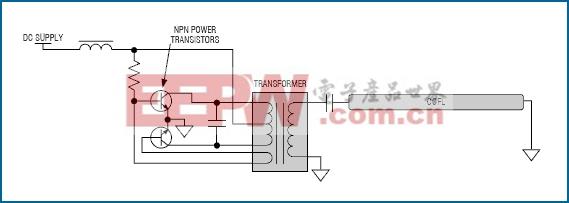 图1. Royer驱动器简单,但不太精确。