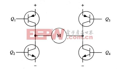 h桥式电机驱动电路及工作原理