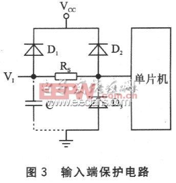 输入端保护电路