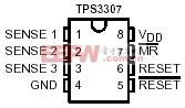 TPS3307管脚图