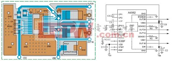 基于a4982设计的dmos微型步进马达驱动技术