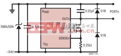 可靠地电缆放电保护 power.21ic.com